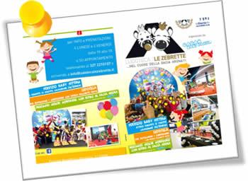 Ludoteca Le Zebrette - Pacchetto festa e servizio noleggio giochi gonfiabili in provincia di Udine - small1